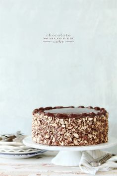 Chocolate Whopper Cake for Better Homes and Gardens blog Delish Dish