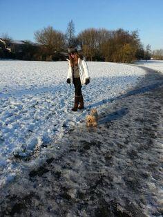 Wintery England..
