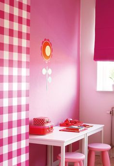 1000 images about kinderkamers on pinterest bureaus met and hot pink decor - Roze kleine kamer ...