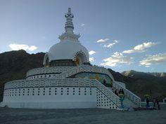 Peace, Shanti Stupa, Leh, India