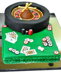 Roulette cake by Tuffli www.tuffli.ro