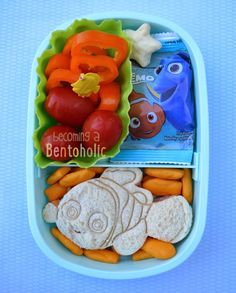 Finding Nemo Bentos ~ Becoming A Bentoholic