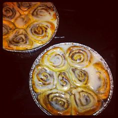 Pioneer Woman Cinnamon Rolls...  words cannot describe the goodness of these.