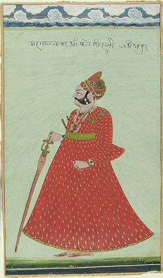 Unknown Artist, Portrait of a Nobleman in Red, c. 1800, Harvard Art Museums/Arthur M. Sackler Museum.