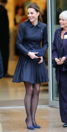 Kate Middleton - The Duchess Of Cambridge Attends Place2Be Forum