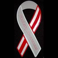 Official ribbon for Pituitary Tumor Awareness.