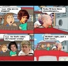 I remember that prank they did on One Direction and Niall just sat down and watched while eating.