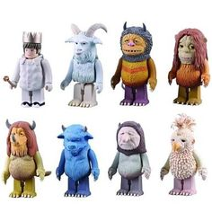 Amazon.com: Where The Wild Things Are Kubrick Figure - ONE Blind Box: Toys & Games