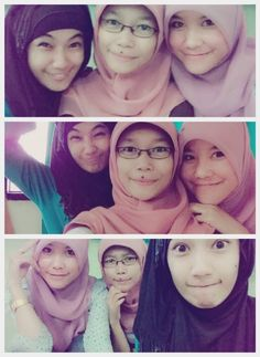 With my bestfriends. ^^