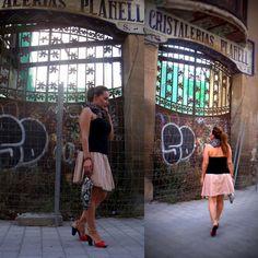 Merci au blog im fashion & style / jupe NAF NAF