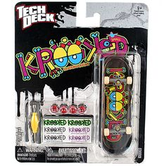 Tech Deck 96mm Series [Krooked Colors]