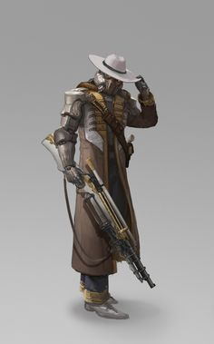 ArtStation - Maoden Zhang's submission on Wild West - Character Design Character Design Cartoon, Fantasy Character Design, Character Design References, Character Design Inspiration, Character Concept, Character Art, Arte Sci Fi, Sci Fi Art, Star Wars Characters