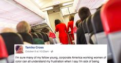 Houston OBGYN Dr. Tamika Cross is blowing up Facebook with a maddening story of prejudice that's sure to make you grit your teeth in frustration. Dr. Cross was flying out of Detroit on a Delta fli