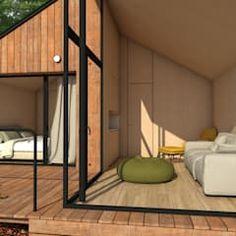 Modular house of just 42 base