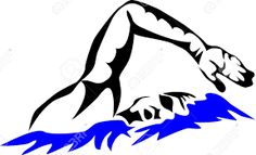Image result for swimmer line drawings