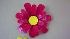 tin can flowers how to | Modern Daisy Flower made from recycled tin cans by TheTinLady