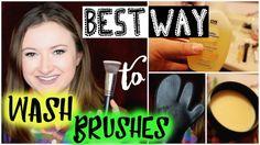 What's the BEST Way to Wash Makeup Brushes?   Battle of the Cleansing Methods from missglambam.com  #youtuber #Beautyvlogger #makeupbrushes #makeupbrush #beautyblender #makeupsponge #howtoclean #cleanser #brushcleaner #brushcleanser #brushcleanserdupe #babyshampoo #brushcleansingmitt #demo #cleansingbalm #brushcleansingbalm #drugstoredupe #blendercleanserdupe #bestwaytocleanbrushes #bestmethod #howtowashmakeupbrushes #howtocleanmakeupbrushes #makeupacademy #cvs #goatmilkcleansingbalm #review