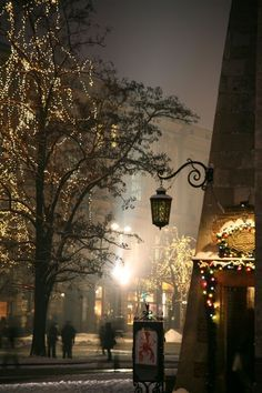 Christmas in Krakow, Poland...my hometown
