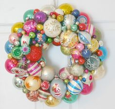 Turn all those vintage ornaments into a welcoming wreath. Read 13 ways to upcycle items around the house to create a magical December.