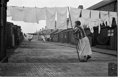 From his 'Worktown' project in Bolton to by John Humphrey Spender on Curiator, the world's biggest collaborative art collection. Cleaning Recipes, Diy Cleaning Products, Open Shutters, Liquid Castile Soap, Windy Day, Collaborative Art, Clothes Line, Women In History, Back In The Day