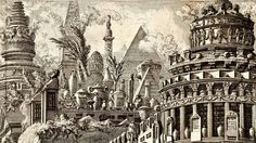 Piranesi sketching style is quite cool. Check him out.