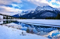 """""""I go to nature to be soothed and healed, and to have my senses put in order."""" John Burroughs ❤️ @travelalberta"""