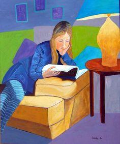 Girl Reading Book, Reading Art, Woman Reading, Reading Books, Books To Read For Women, Little Free Libraries, Light Painting, I Love Books, Toddler Girls