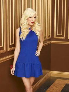 We can't wait to see the beautiful Tori Spelling as Holly in #MysteryGirls!