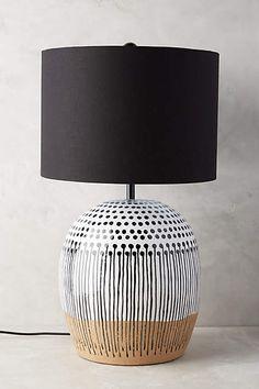 Uteki Painted Lamp Ensemble - anthropologie.com