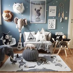 90X140CM Adventure World Map Carpets Children Game Mats Crawling Mats European and American Style Child Room Decoration Rugs