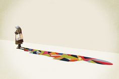 Walking Shadow Series : Jason Ratliff :: design & illustration