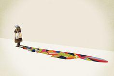 Walking Shadow Series : Jason Ratliff :: design & illustration