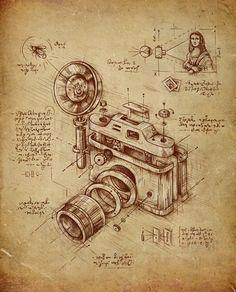 Si Léonard De Vinci avait inventé l'appareil photo