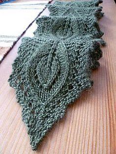 Ravelry: Lamina pattern by Karen S. Lauger ... free pattern