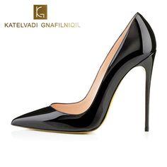 Brand 12CM High Heels Shoes Woman High Heels Pumps Wedding Bridal Shoes Black Heels Women Shoes High Heels Women Pumps B-0159 #Black high heels http://www.ku-ki-shop.com/shop/black-high-heels/brand-12cm-high-heels-shoes-woman-high-heels-pumps-wedding-bridal-shoes-black-heels-women-shoes-high-heels-women-pumps-b-0159/