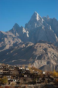 Karakoram peaks - Hushe valley . Pakistan