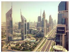 Sheikh Zayed Raod Dubai towards Emirates Towers