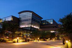 Melvin J. Zanhow Library at Saginaw Valley State University in University Center near Saginaw, Michigan
