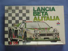 NEW ESCI Made in Italy 1/24 Scale, LANCIA BETA ALITALIA Model Race Car RARE! #Esci