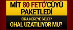 MİT'in Arnavutluk'tan 6 FETÖ'cüyü getirmesiyle ilgili tartışma sürerken Başbakan Yardımcısı Bekir Bozdağ, MİT'in yurtdışında bulunan 80 FETÖ'cüyü paketleyerek Türkiye'ye getirdiğini açıkladı...