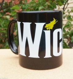 COFFEE MUG - WICKED THE MUSICAL - COLLECTIBLE - SIZE 3.75 X 3 INCHES
