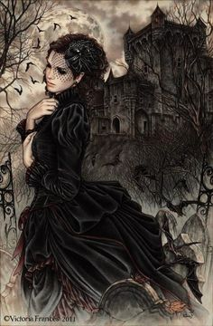 dark art / mourning / Victoria frances