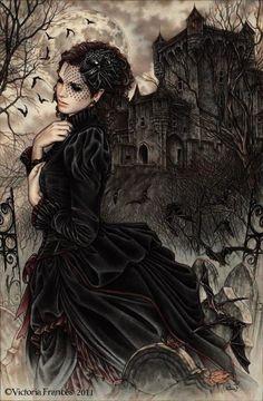 dark art / mourning / Victoria frances