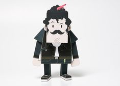 korean brownbreath have sent in images of their latest project. they teamed up   with toy brand momot to create a new range of paper toys to promote brownbreath's  autumn/winter collection. the series includes 6 different characters dressed in   the fashion labels clothing.