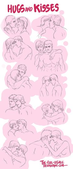 References - Hugs and Kisses by the-evil-legacy.deviantart.com on @DeviantArt