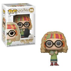 From Harry Potter, Professor sybill Trelawney, as a stylized POP vinyl from Funko! Collect and display all Harry Potter pop! Harry Potter Professoren, Harry Potter Pop Figures, Objet Harry Potter, Fans D'harry Potter, Harry Potter Characters, Funko Pop Harry Potter, Harry Potter Display, Potter Facts, Funk Pop
