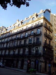 bebetecavigo. Edificio monumental en el centro de Vigo. bebetecavigo