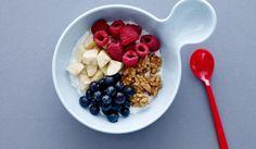 250 kalorier - Rørt skyr med banan og valnødder | I FORM