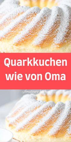 Easy Baking Recipes, Cake Recipes, Cooking Recipes, Sin Gluten, German Baking, Easy Vanilla Cake Recipe, Low Carb Desserts, No Bake Cake, Kids Meals