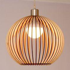 Houten lampen - Houtspul.nl - Houten accessoires en meer